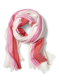 Banana Republic Sheer Stripe Rectangular Scarf