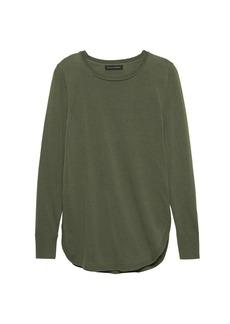 Banana Republic Side-Slit Sweater Tunic