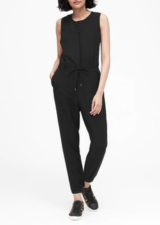 Banana Republic Side-Stripe Cropped Jumpsuit