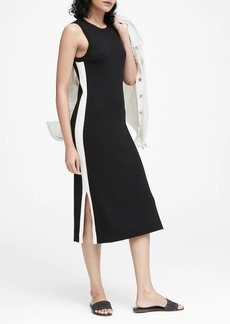 Banana Republic Side-Stripe Knit Dress
