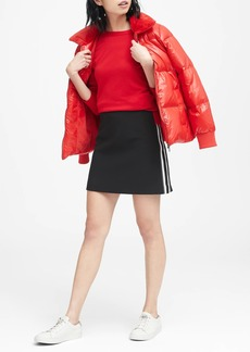 Banana Republic Side-Stripe Mini Skirt