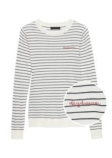 Banana Republic Silk Cashmere Daydreamer Sweater