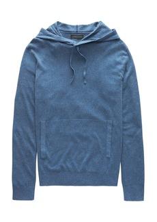 Banana Republic Silk-Linen Sweater Hoodie