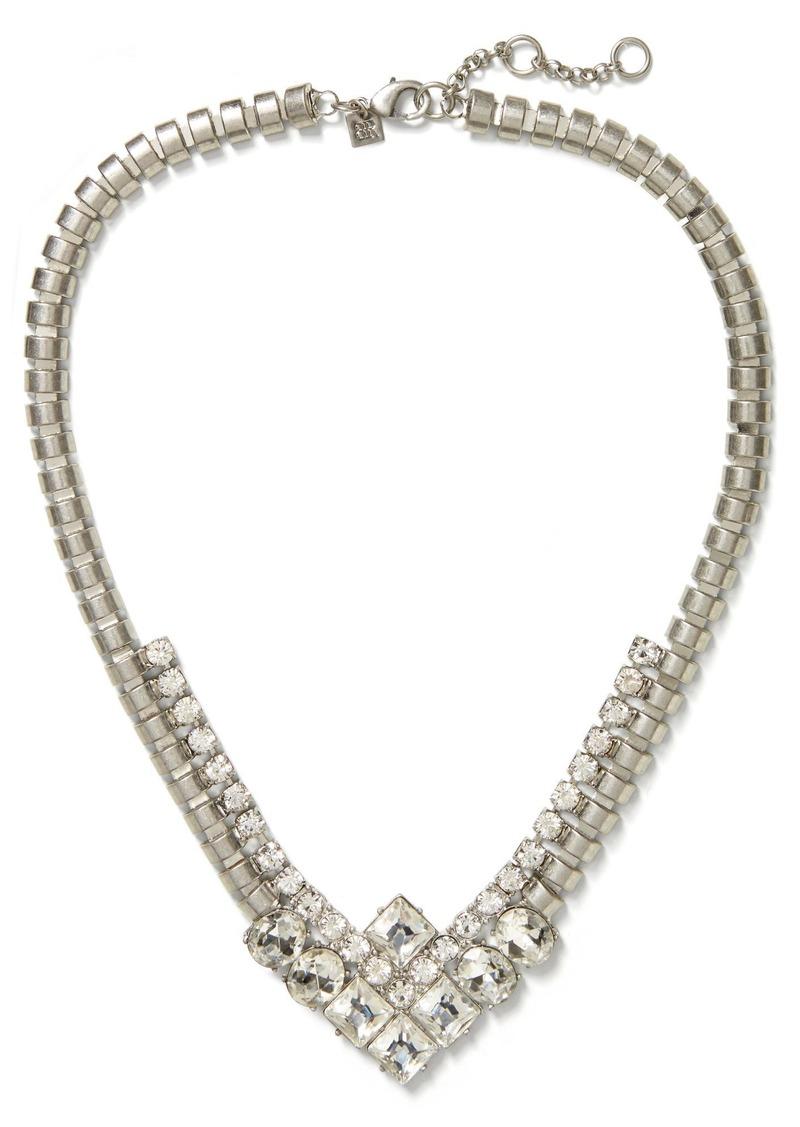 Banana Republic Silver Square Necklace