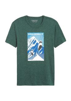 Banana Republic Ski Gondola Graphic T-Shirt