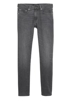 Banana Republic Skinny Rapid Movement Denim Gray Wash Jean