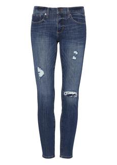 Banana Republic Skinny Zero Gravity Medium Wash Ankle Jean