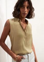 Banana Republic Sleeveless Button-Down Shirt