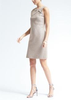 Sleeveless Shine Shift Dress