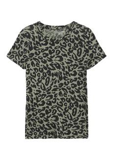 Banana Republic Animal Print T-Shirt