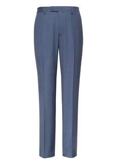 Banana Republic Slim Blue Italian Wool Suit Pant