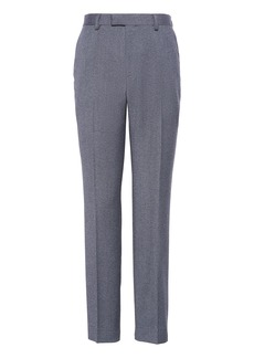 Banana Republic Slim Brushed Oxford Suit Pant