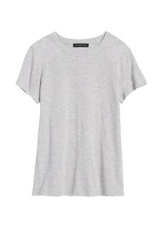 Banana Republic Slub Cotton-Modal Crew-Neck T-Shirt