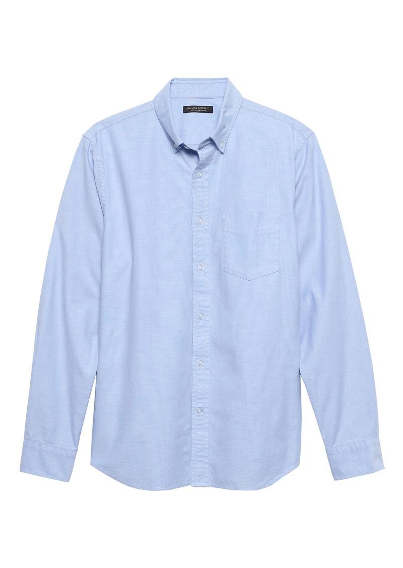 Banana Republic Slim-Fit Cotton Oxford Shirt