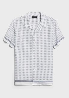 Banana Republic Slim-Fit Cotton Resort Shirt