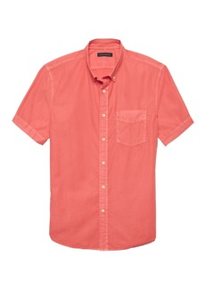 Banana Republic Slim-Fit Cotton Twill Shirt