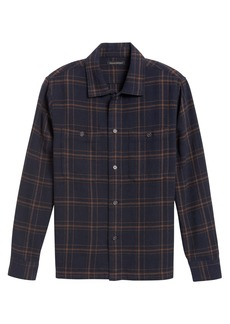 Banana Republic Slim-Fit Heavyweight Flannel Shirt Jacket