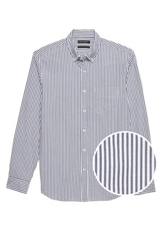 Banana Republic Slim-Fit Seersucker Shirt