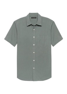 Banana Republic Slim-Fit Seersucker Shirt