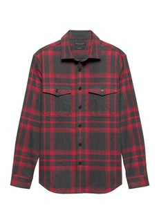 Banana Republic Slim Flannel Shirt Jacket