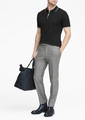 Banana Republic Slim Herringbone Italian Flannel Suit Pant