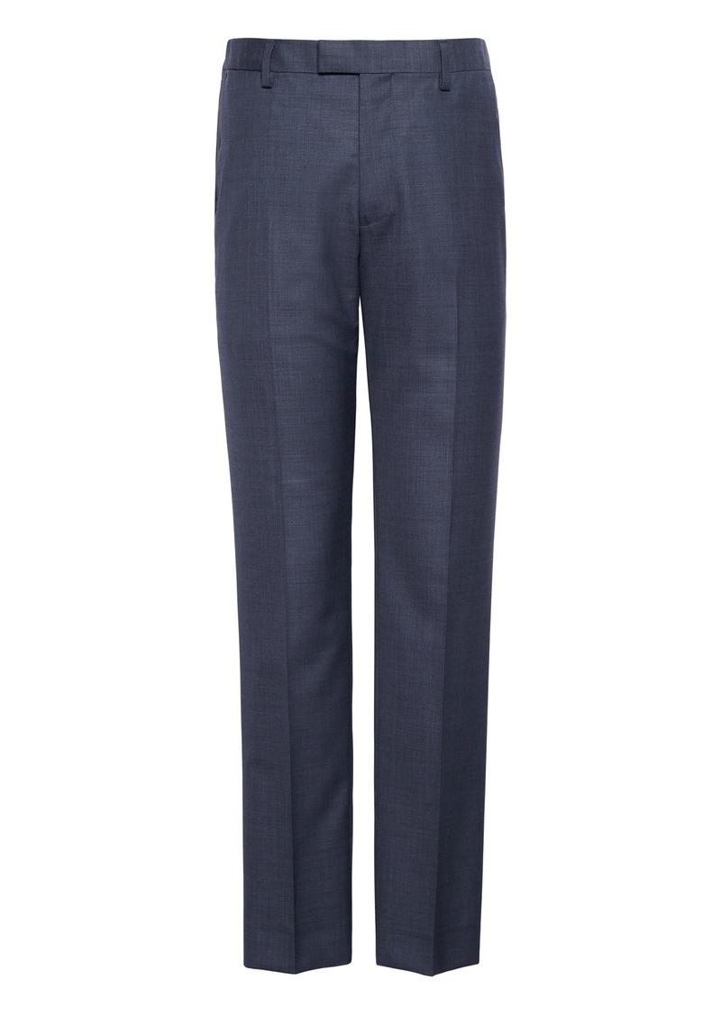 Banana Republic Slim Italian Sharkskin Suit Pant