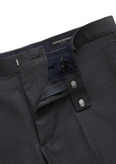 Banana Republic Slim Italian Wool Nailhead Suit Pant
