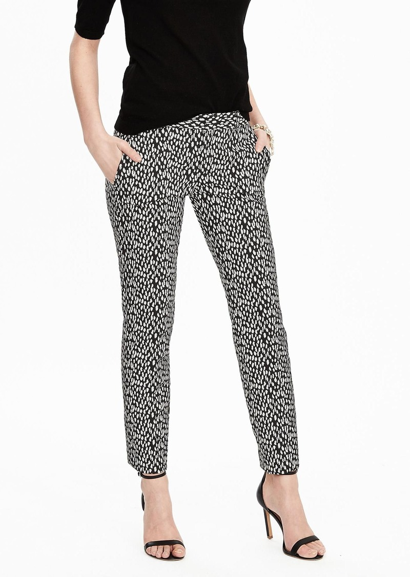 Banana Republic Slim Leopard Print Ankle Pant