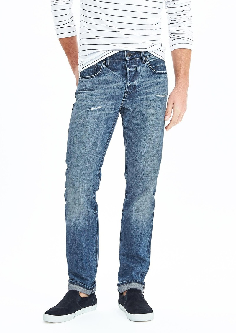 Banana Republic Slim Light Wash Kaihara Selvedge Jean