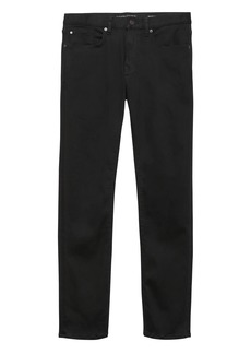 Banana Republic Slim LUXE Traveler Black Jean