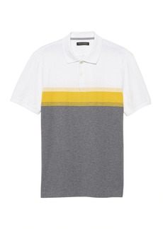 Banana Republic Slim Luxury-Touch Performance Golf Polo