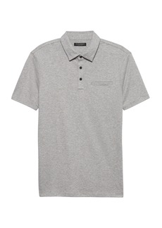 Banana Republic Slim Luxury-Touch Performance Polo
