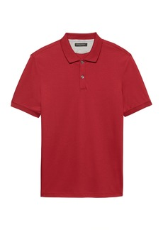 Banana Republic Slim Luxury-Touch Polo