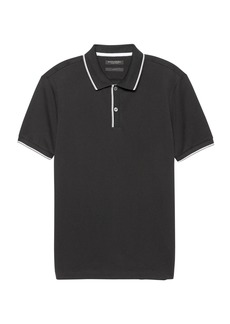 Banana Republic Slim Luxury-Touch Texture Polo