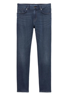 Banana Republic Slim Medium Wash Japanese Traveler Jean