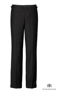 Banana Republic Monogram Slim Italian Wool-Mohair Tuxedo Pant