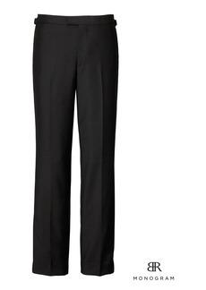Banana Republic Monogram Slim Italian Tuxedo Pant