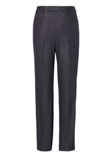 Banana Republic Slim Navy Pinstripe Italian Motion-Stretch Wool Suit Trouser