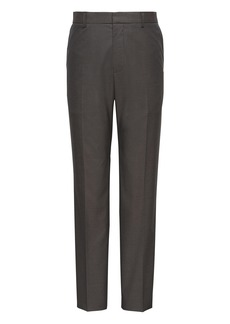Banana Republic Slim Non-Iron Stretch Cotton Solid Pant
