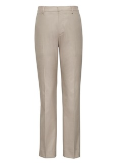 Banana Republic Slim Non-Iron Stretch Cotton Texture Pant