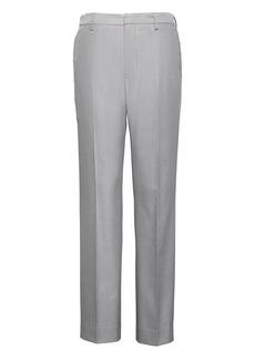 Banana Republic Slim Non-Iron Stretch Cotton Texture Pant