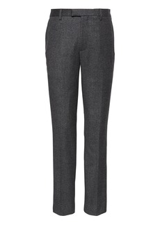 Banana Republic Slim Flannel Dress Pant