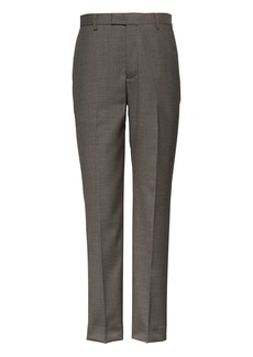 Banana Republic Slim Performance Wool Pant