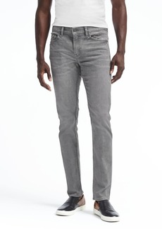 Banana Republic Slim Rapid Movement Denim Gray Wash Jean