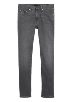 Banana Republic Slim Rapid Movement Denim Gray Wash Jean