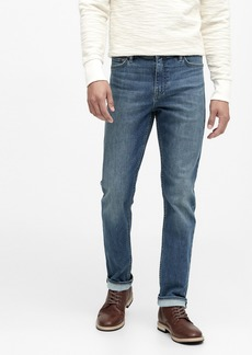 Banana Republic Slim Rapid Movement Denim Jean with COOLMAX® Technology
