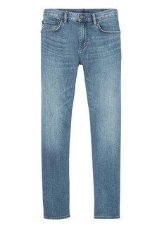 Banana Republic Slim Rapid Movement Denim Light Wash Jean