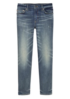 Banana Republic Slim Rapid Movement Denim Medium Wash Jean