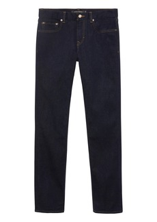 Banana Republic Slim Rapid Movement Denim Stay Blue Jean