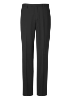 Banana Republic Slim Solid Italian Wool Suit Pant